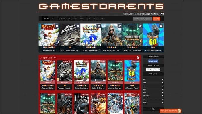 torrent sites for games